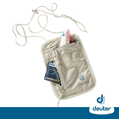 【deuter德國】SECURITY WALLET隱藏式錢包3942016卡其/側背貼身袋/斜背包/鑰匙包/隨身袋/證件包