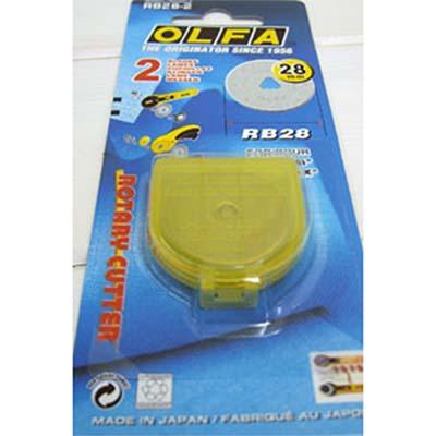 縫紉工具 OLFA 裁刀片28mm
