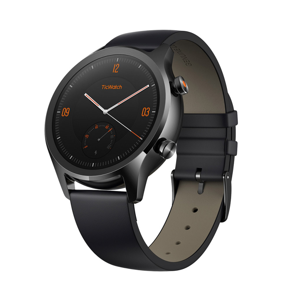 TicWatch C2 SmartWatch 智慧手錶-遂空黑