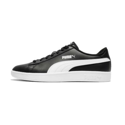PUMA-Puma Smash v2 L 男性復古運動鞋-黑色