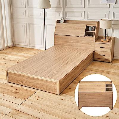 時尚屋 亞伯特3.5尺床頭箱