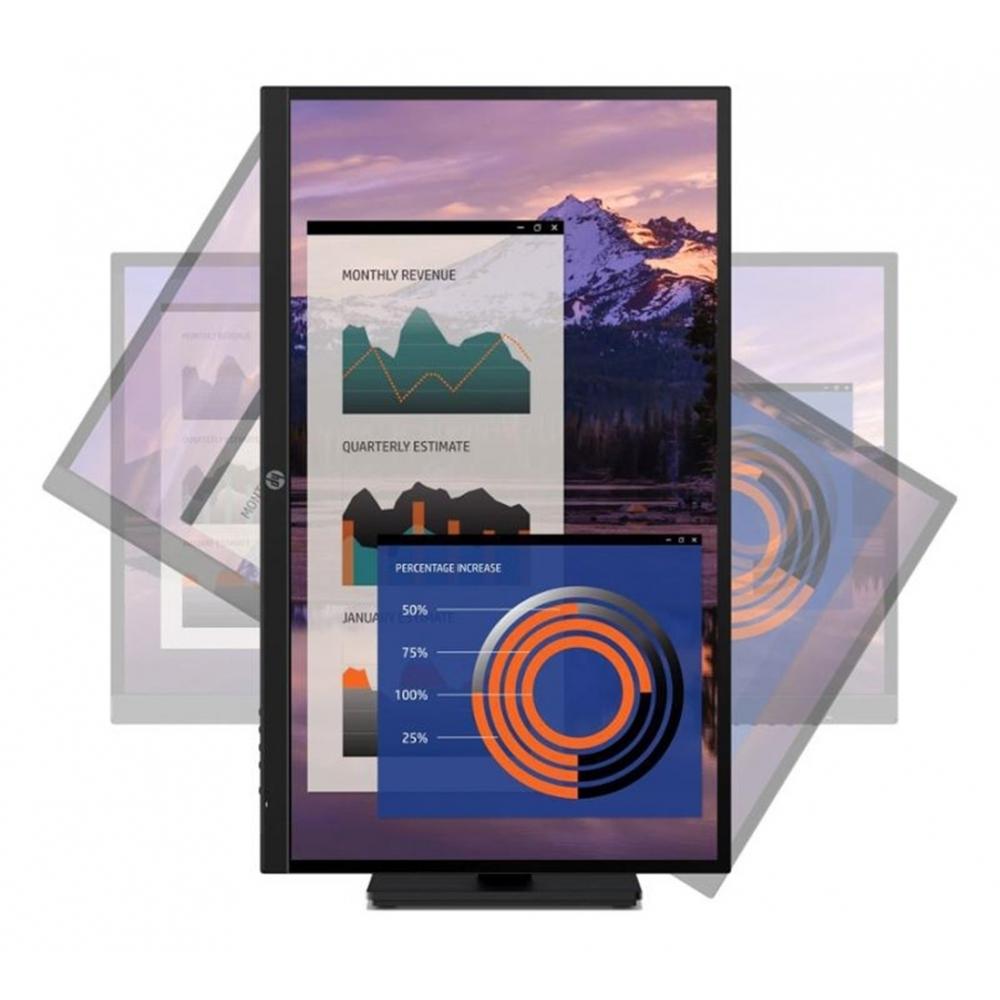 HP P27h G4 27吋 IPS 可旋轉電腦螢幕