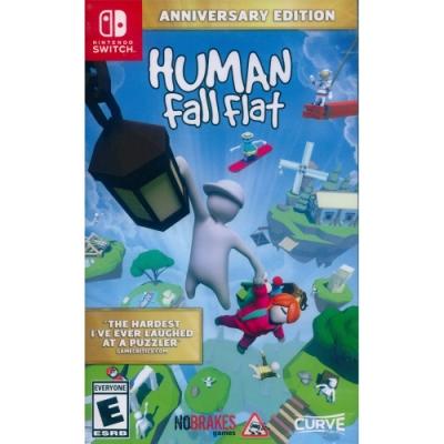 人類 : 跌落夢境 周年紀念版 Human: Fall Flat Anniversary Edition - NS Switch 中英日文美版