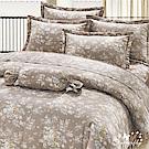 BUTTERFLY-多款1-台製40支紗純棉30公分雙人床包+雙人鋪棉兩用被