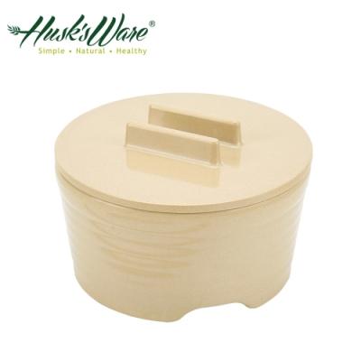 美國Husk's ware 稻殼天然無毒環保附蓋保鮮泡麵碗