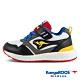 KangaROOS 美國袋鼠鞋 童鞋 RACER EVO 科技運動機能跑鞋/休閒鞋/運動鞋/兒童鞋(黑白灰-KK11318) product thumbnail 1