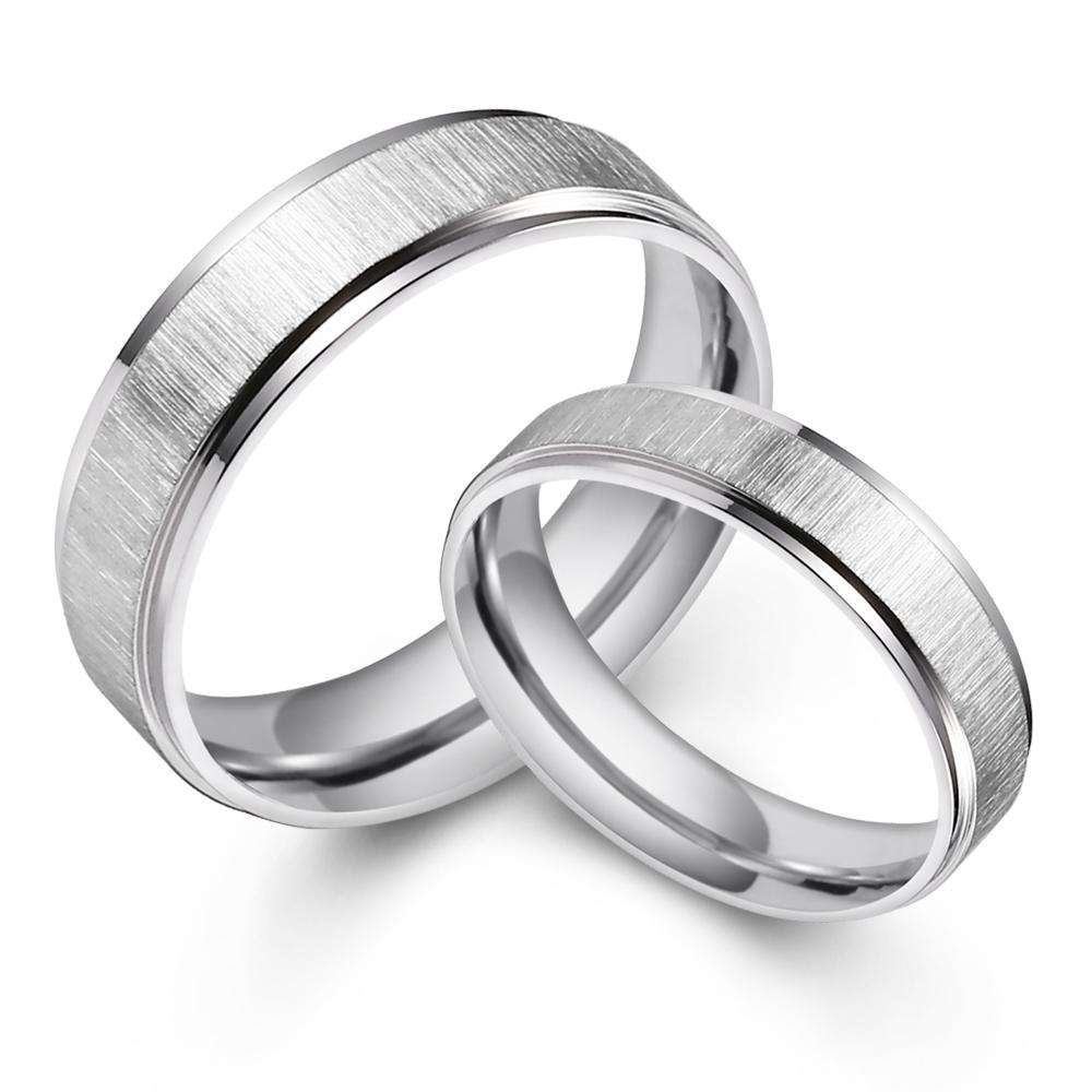 GIUMKA情侶對戒 白鋼戒指男戒+女戒 幸福之路 一對價格