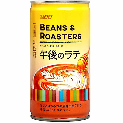 UCC 午後拿鐵咖啡(185g)