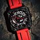 ROMAGO 碳霸系列 超級碳纖自動機械腕錶 - 黑紅色/46.5mm product thumbnail 2