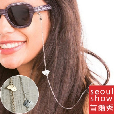 seoul show首爾秀 小鳥口罩掛繩鍊眼鏡鍊老花眼鏡防丟鍊