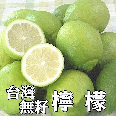 【天天果園】台灣特級薄皮無籽爆汁檸檬(每袋約600g)x20袋