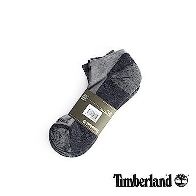 Timberland 男款黑灰透氣吸汗舒適隱形襪