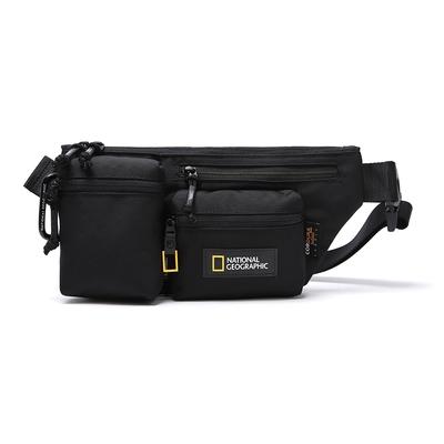 NATIONAL GEOGRAPHIC SLIDER hip sack V2  腰包 黑-N211AHI060099