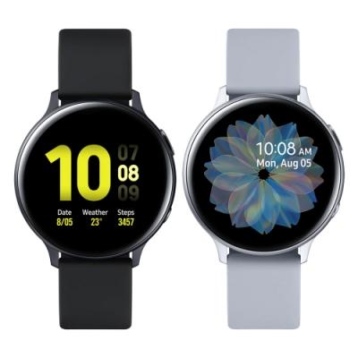 [無卡分期-12期]三星 Galaxy Watch Active2 44mm鋁製藍牙R820