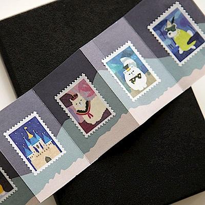 Dailylike 郵票造型紙膠帶(單捲)-11 動物仙境