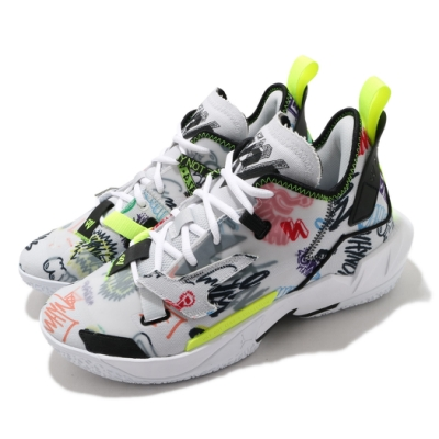 Nike 籃球鞋 Why Not Zer0.4 運動 男鞋 喬丹 避震 包覆 明星款 球鞋 白 彩 DD4886007