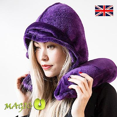 TUDOR ROYALS 都鐸皇家 魔幻多功能保暖斗篷頸枕 貴氣紫時尚組