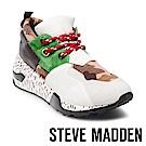 STEVE MADDEN-CLIFF潮流款拼接時尚老爹鞋-綠色