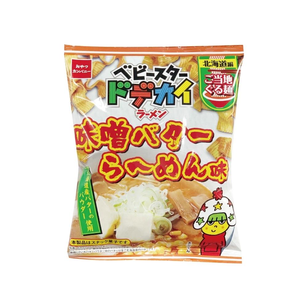 OYATSU優雅食 點心條餅-北海道奶油味噌拉麵風味