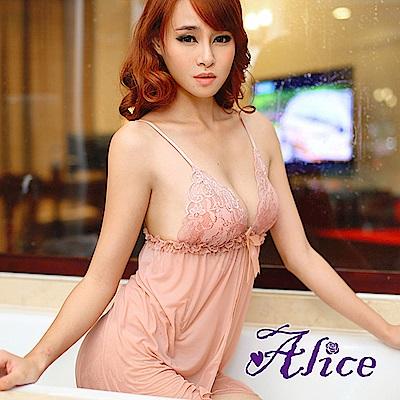 Alice情趣V領氣質套裝性感連身裙(AK046)