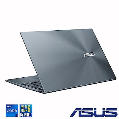 ASUS UX425EA 14吋筆電  (i7-1165G7/16G/512G SSD/ZenBook 14/綠松灰)