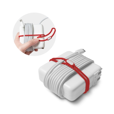 【BONE】雙環綁-電源線收納(超值3入組)