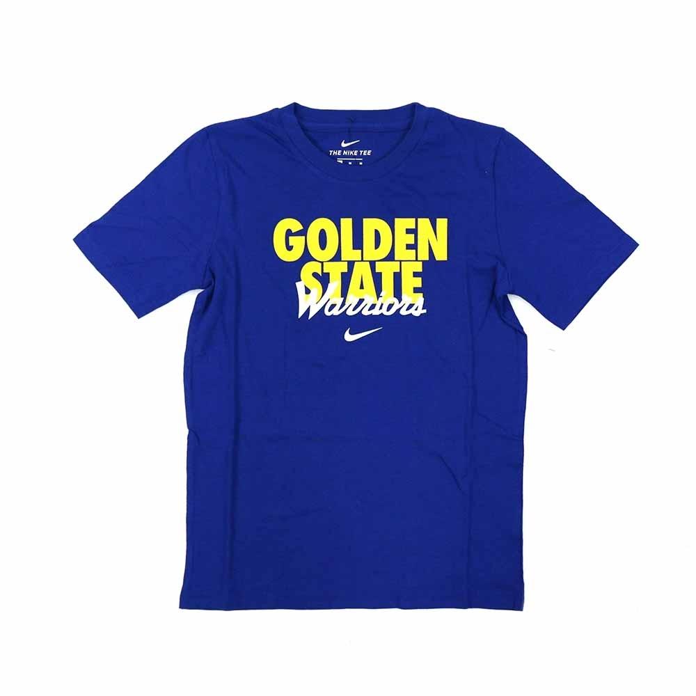 NIKE NBA DNA 青少年 短袖T恤 勇士隊