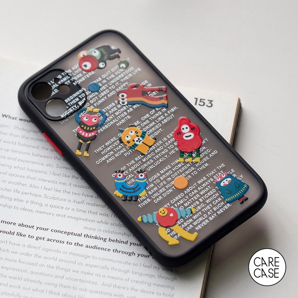 CARECASE 小怪獸系列 iPhone 7 Plus / 8 Plus 手機保護殼 磨砂立體款