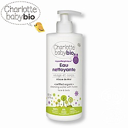 【Charlotte baby bio】夏綠蒂寶貝嬰幼兒免用水潔淨液-500ml