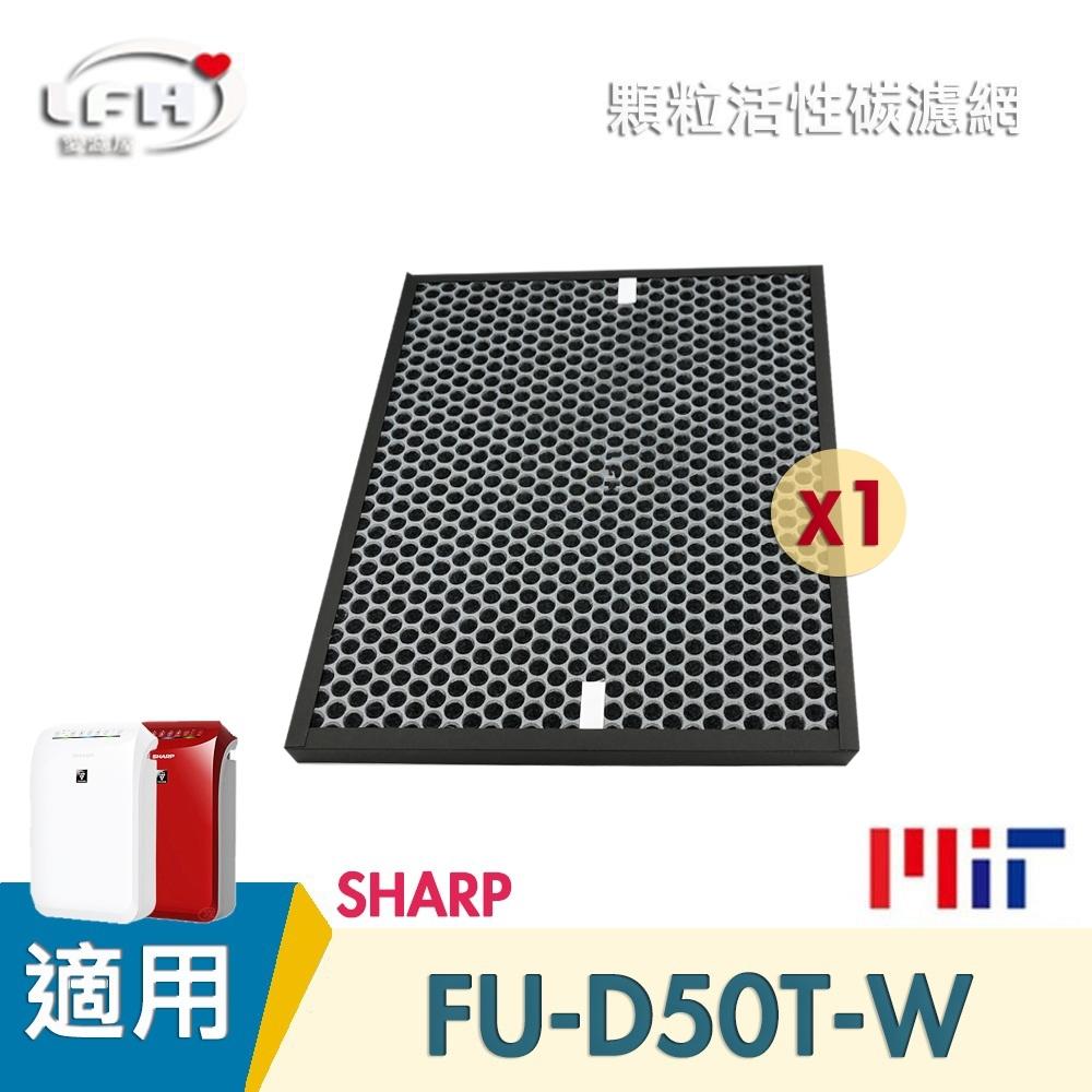 LFH 顆粒活性碳清淨機濾網 適用:SHARP夏普 FU-D50T/D50T-WR/FZ-D40XH