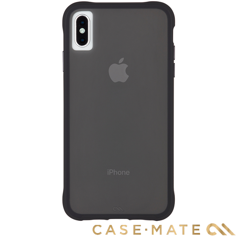 美國Case-Mate iPhone XS Max Tough Matte-透黑 贈保護貼