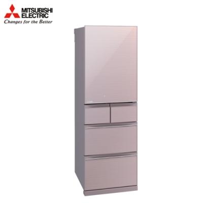 MITSUBISHI三菱 455L 日製五門變頻冰箱 MR-BC46Z-P-C 水晶粉