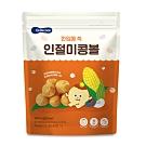 韓國【BEBECOOK】嬰幼兒玉米球-原味(25g)