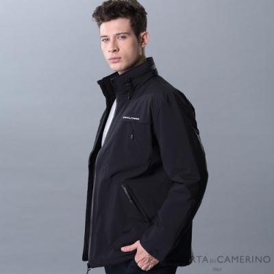 ROBERTA諾貝達 內裡舖棉 保暖休閒夾克外套 黑色