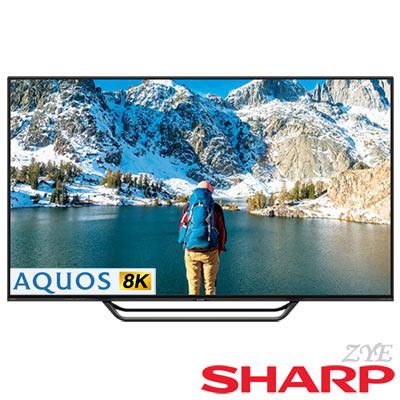 SHARP夏普 70吋 AQUOS真8K 日本製 液晶顯示器 LC-70X500T