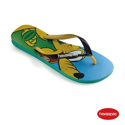 Havaianas哈瓦仕 拖鞋 迪士尼 高飛 夾腳拖 巴西  童鞋 兒童 叢林綠 4123500-2078K Kids Disney Stylish 迪士尼
