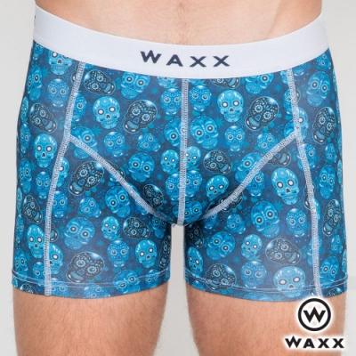 WAXX 水晶骷髏-四面超彈性快乾四角男內褲