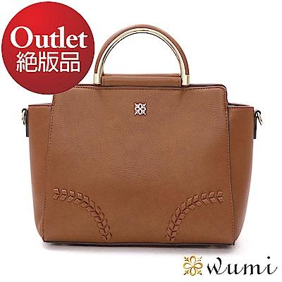WuMi 無米 蜜琪法式甜美手提包 經典駝