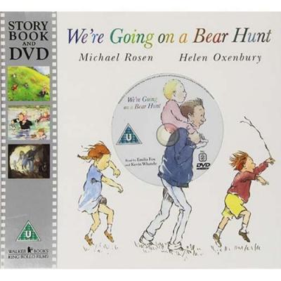 We re Going On A Bear Hunt 我們要去抓狗熊 DVD平裝故事繪本