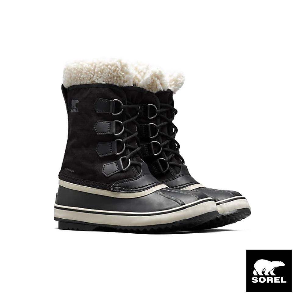 SOREL-節慶系列女款帆布運動靴-黑色