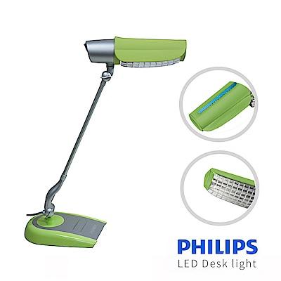 【飛利浦 PHILIPS LIGHTING】鉑光防眩檯燈 FDS668 (綠)