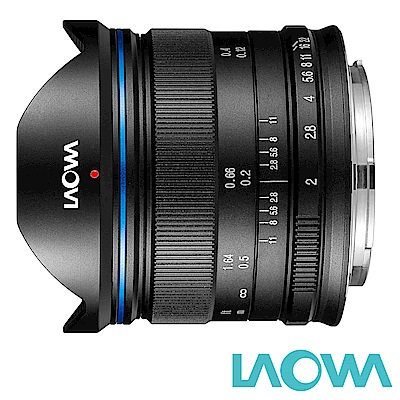 LAOWA 老蛙 7.5mm F2 C-Dreamer 輕量版 手動鏡頭 公司貨