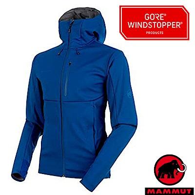 MAMMUT 長毛象 Ultimate V 防風透氣保暖機能外套_群青藍