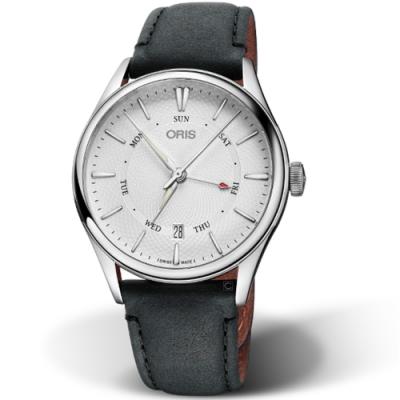 Oris豪利時ARTELIER指針式日曆星期錶-40mm