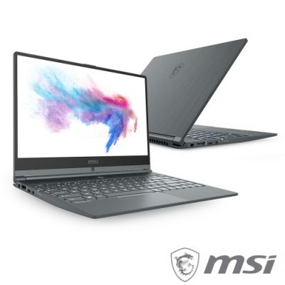 MSI微星 Modern 14-830 窄邊框創作者筆電(i5-10210U/16G/1T)