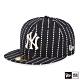 NEW ERA 59FIFTY 5950 WORK STITCH 洋基 黑 棒球帽 product thumbnail 2