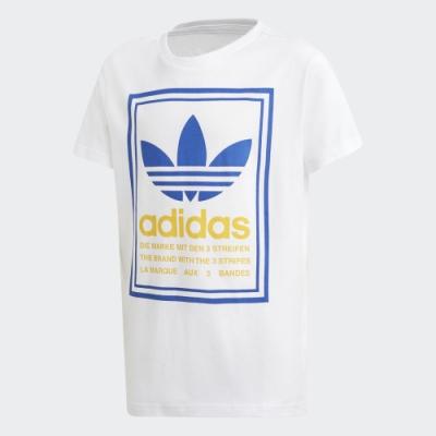 adidas GRAPHIC 短袖上衣 男童/女童 GD2800