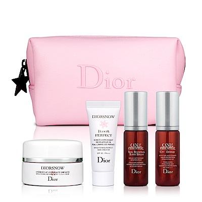 Dior迪奧 雪晶靈賦活保養5件組