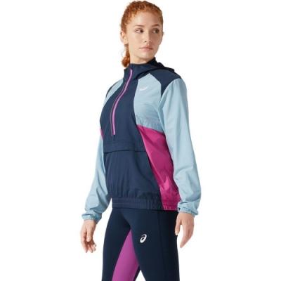ASICS 亞瑟士 VISIBILITY 平織半襟外套 女 外套  2012B906-400