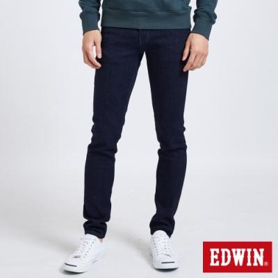 EDWIN EDGE LINE 超彈修身 窄管牛仔褲-男-原藍色